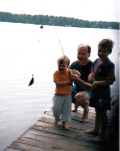 Watchic Lake First fish
