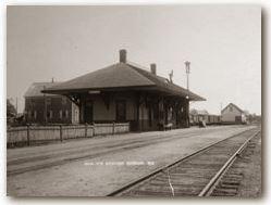 Gorham Station ca 1900