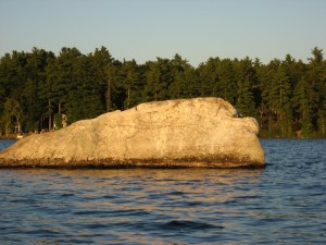 Big Rock, Watchic Lake