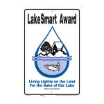 Watchic Lake Homeowners Win LakeSmart Award