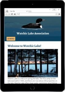 WLA Website iPad