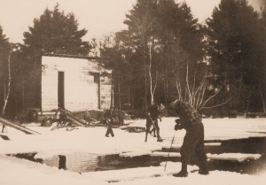 Watchic Lake Ice House 1929