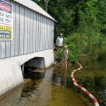 Dam Safety Bouy's Installed