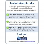 A Simple Way You Can Help Protect Watchic Lake