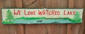 We Love Watchic Sign Cropped