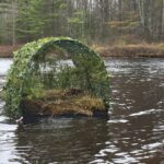 New Loon Nesting Raft at Paine Brook